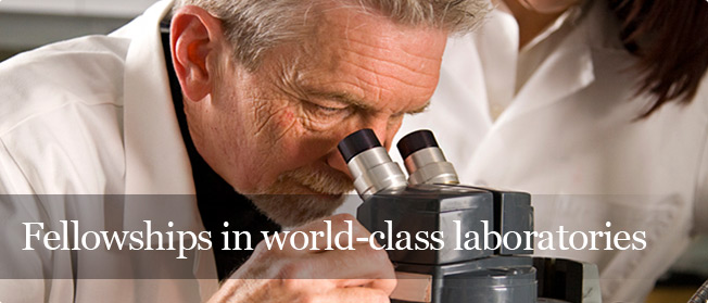 Fellowships in world-class laboratories